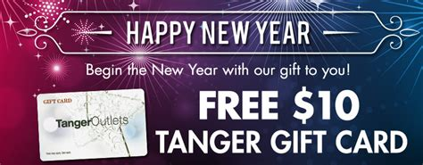 Tanger Outlet Gift Card - tanger outlets free 10 gift card couponing 101