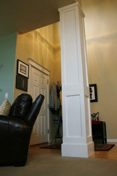 diy columns 78 best columns and trim work images on home ideas moldings and homes