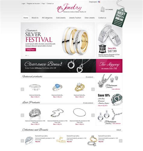 30 Free Responsive Ecommerce Templates And Websites For Your Inspirations Free Responsive Ecommerce Website Templates