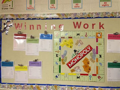 work for room and board 17 best ideas about monopoly classroom on monopoly decorations and