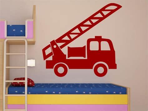 Wandtattoo Kinderzimmer Junge Feuerwehr