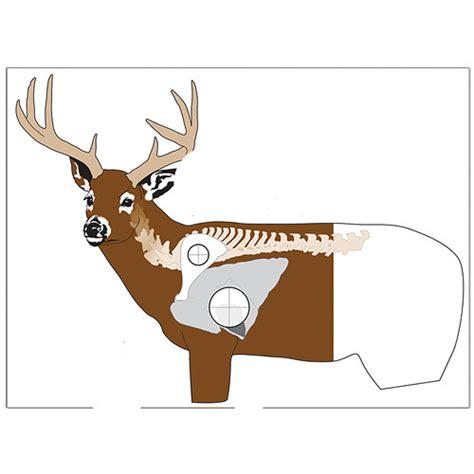 printable paper deer targets hoppes 28x28 quot deer quot target zone quot paper ct6 b h