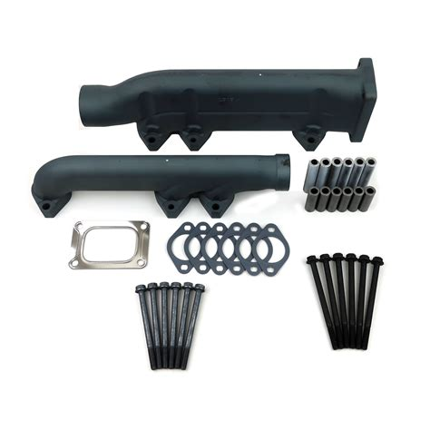 boat engine manifold cummins marine qsm11 exhaust manifold kit seaboard marine