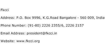 Search Contact Number By Address Fkcci Address Contact Number Of Fkcci
