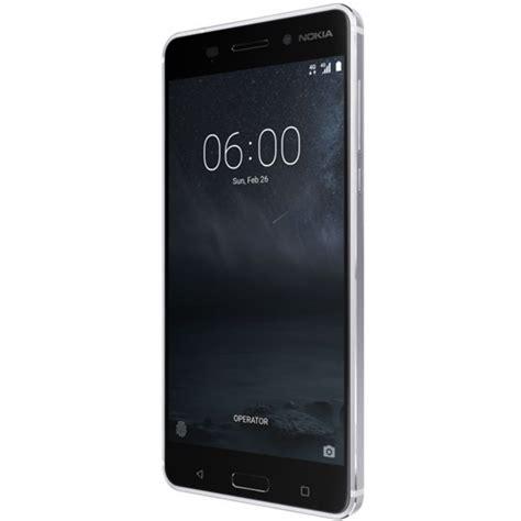 Nokia 6 32gb 3gb Ram Silver telefon mobil dual sim nokia 6 32gb 3gb ram silver