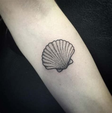 small seashell tattoo 46 fantastic forearm tattoos for with style