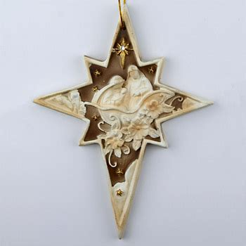 nativity star of bethlehem ornament holy family