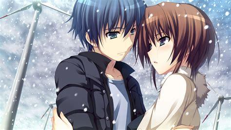 hd wallpaper of anime couple beautiful anime cartoon couple hd wallpaper hd