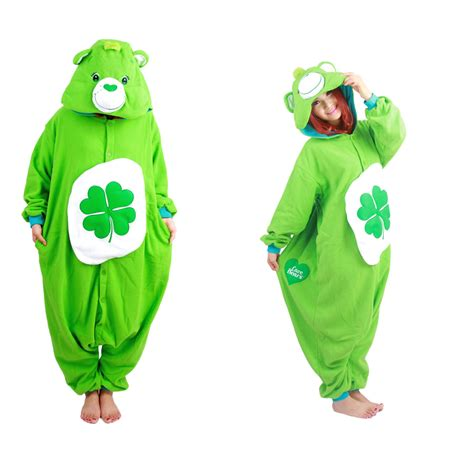 Leaf Green Pajamas new arrival green four leaf clover lucky care