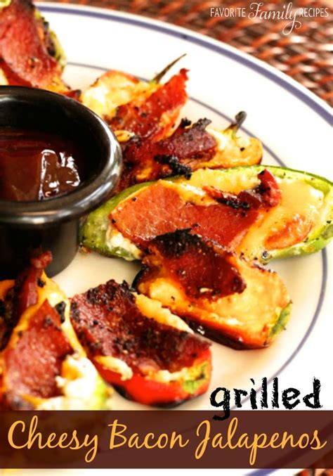 these grilled jalapenos are such a great bbq side dish if