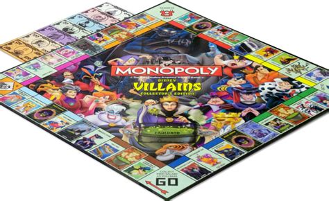 Monopoly Disney monopoly disney villains edition board messiah
