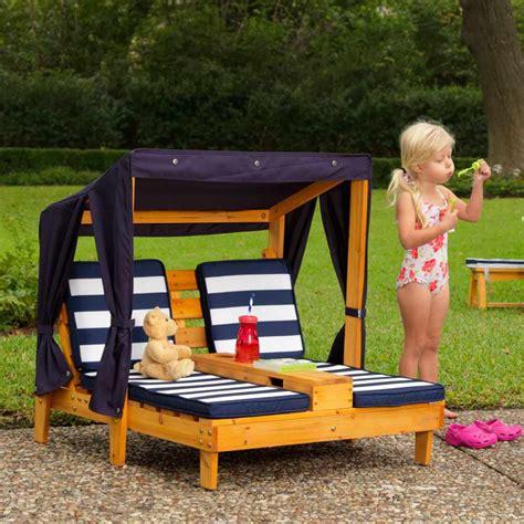chaise jardin enfant chaise longue enfant avec porte gobelets pour l