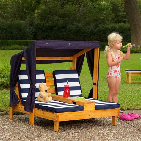 chaise longue enfant chaise longue enfant avec porte gobelets pour l