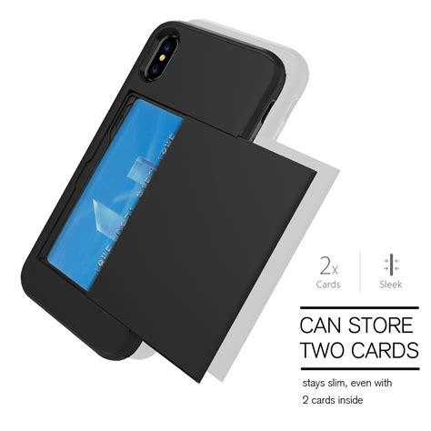 credit card iphone stand template for apple iphone x 10 thin shockproof credit card holder