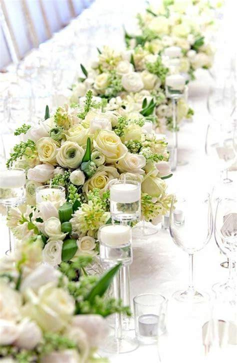 Tischdekoration Hochzeit Gr N by Frische Ideen F 252 R Tischdeko In Gr 252 N Und Wei 223