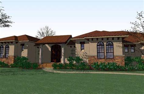 southwestern house plan 3 bedrooms 3 bath 3355 sq ft