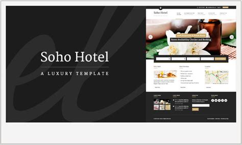 theme hotel for ipad 45 hotels and resorts wordpress templates wp template