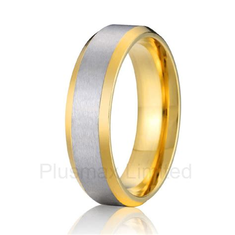 cheap wedding rings titanium rings bay rings good quality cheap price online store gold color cheap