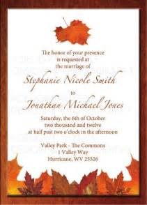 wedding invitations autumn theme 17 best ideas about fall wedding invitations on
