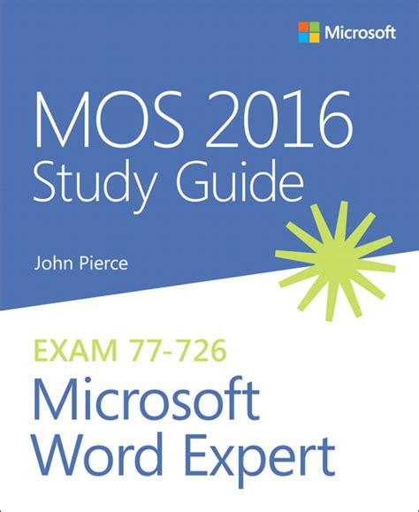Mos Study Guide Pearson