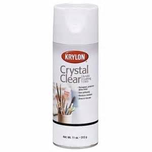 Clear Coating Spray Paint - save on discount krylon 1303 crystal clear acrylic coating varnish spray amp more at utrecht