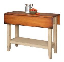 kitchen island table small drop side farmhouse country rustic breakfast bar table kitchen island by
