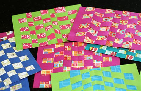 Paper Weaving Crafts - paper weaving patterns images