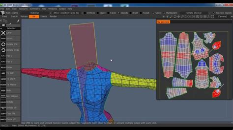 tutorial video mapping 3d tutorial uv mapping en 3d coat youtube