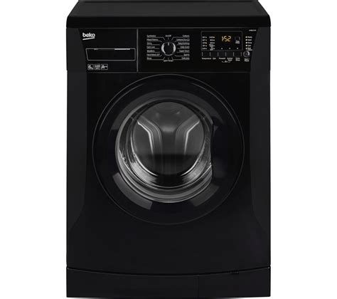 black machine buy beko wmb61432b washing machine black free delivery currys