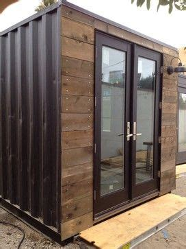 Backyard Sheds Sydney Custom Designed Shipping Container Embed It Into The