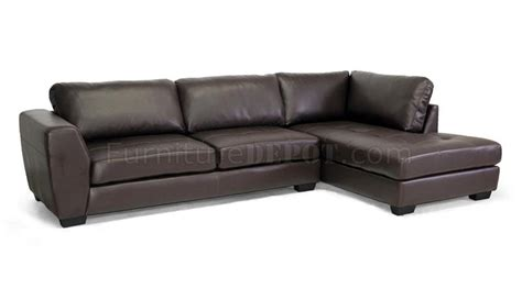 Wholesale Leather Couches orland sectional sofa brown bonded leather wholesale interiors