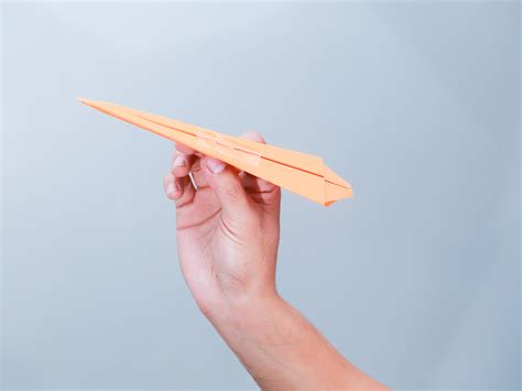 Wiki How To Make A Paper Airplane - 2 easy ways to make a dart paper airplane with pictures