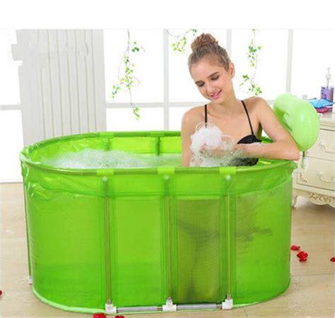 foldable bathtub adults sauna bath dual purpose folding bath tub with large tub bath barrel adult stainless