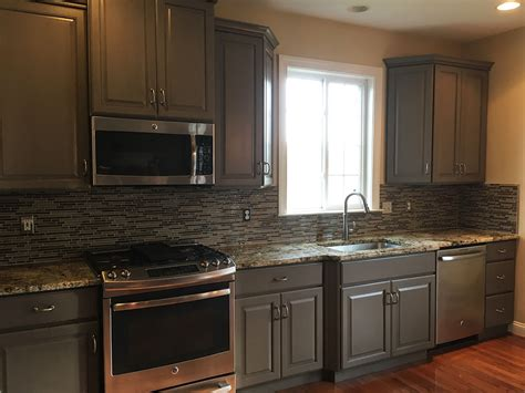 Painting Kitchen Cabinets by Kitchen Cabinet Refinishing Painting Grande Finale