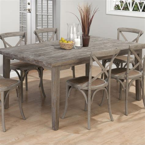 Coastal Kitchen Table Burnt Grey Coastal Rectangle Dining Table The Burnt Grey Coastal Rectangle Dining Table Has The