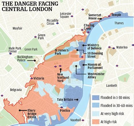river thames flood zone london england climate zone