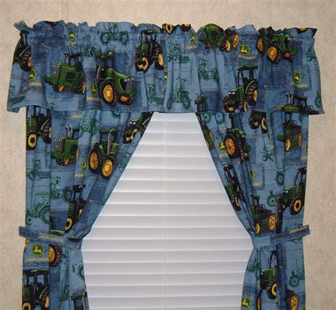 john deere curtains john deere curtains 42 inch wide panels