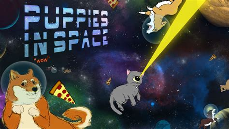 puppies in space puppies in space by chuckles09