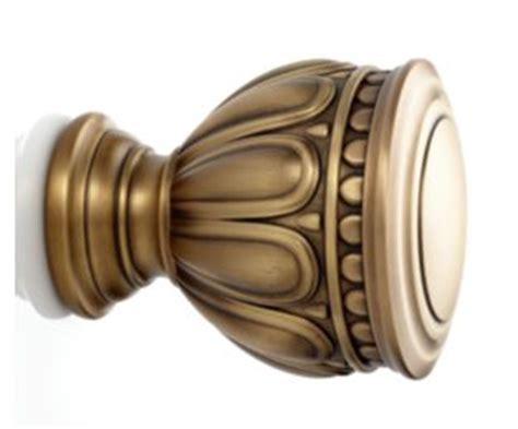 kirsh drapery hardware 1 3 8 quot artemis finial kirsch com