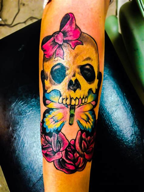 girly skull tattoos newest addition girly skull tattoos quot can t just