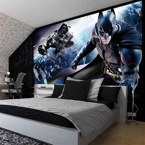 batman wallpaper bedroom uk amazing batman themed rooms you d want for your own wow