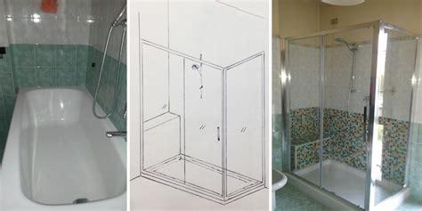 sostituzione vasca bagno con doccia sostituzione vasca con doccia 1 edil arredo