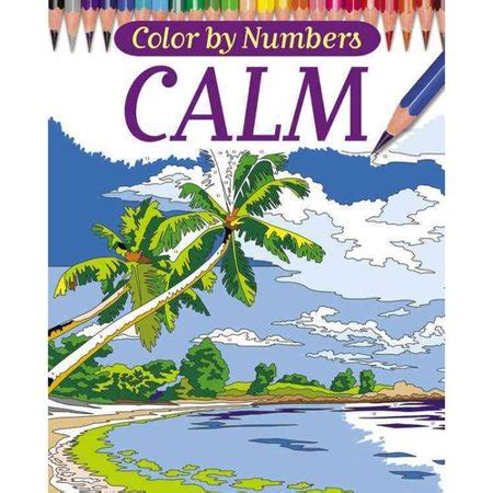 color by number coloring books color by numbers calm coloring book walmart