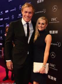 world s greatest wags on show at the laureus awards