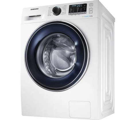 Mesin Cuci Samsung Eco 8 5 Kg buy samsung ecobubble ww80j5555fw 8 kg 1400 spin washing machine white free delivery currys