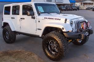 Custom Jeep Rubicon For Sale 2014 Jeep Wrangler Rubicon White