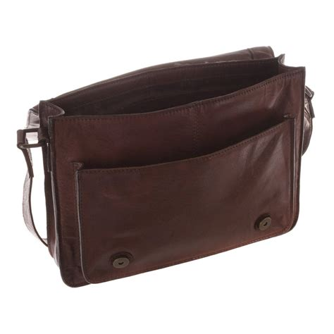 buffalo leather buffalo home decor hand crafted camden small handcrafted conker brown buffalo leather satchel