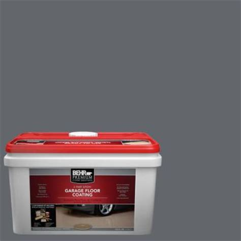 behr premium 1 gal pfc 65 flat top 2 part epoxy garage