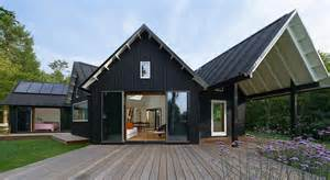 Modern Cabin Plans Contemporary Yet Traditional Danish Summer Cabin Modern