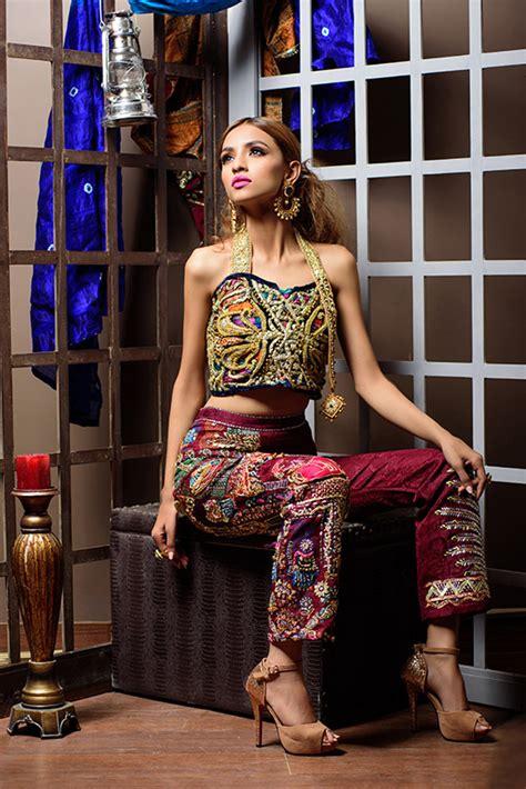 Set Rabia Dress ready set shoot rabia wahab mughal series 2016